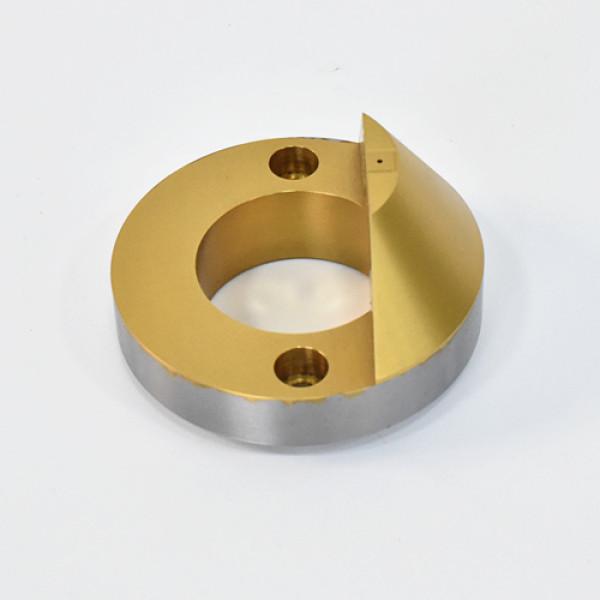 SCM415H presisi material mesin CNC perawatan titanium nitrida