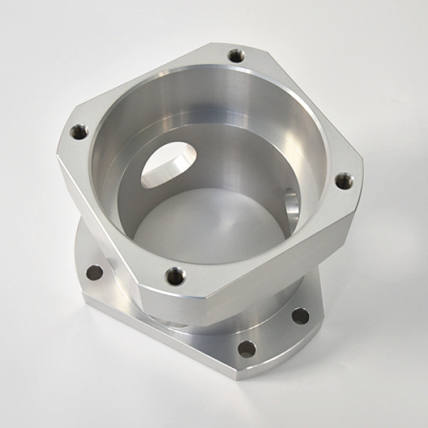 A2017 presisi bagian mesin CNC dari bahan aluminium