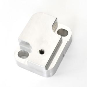 A5052 bagian mesin CNC presisi dari bahan aluminium