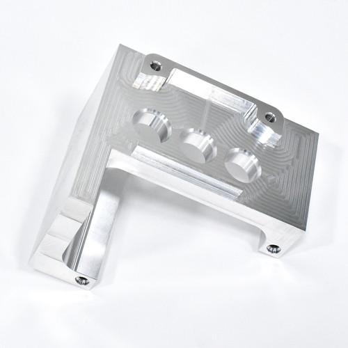 Parti di lavorazione CNC di precisione A6061 di materiali in alluminio