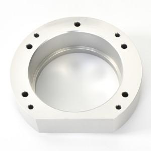 A7075 bagian mesin CNC presisi dari bahan aluminium