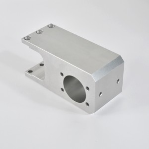 A2017 bagian mesin CNC presisi dari bahan aluminium