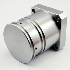 Parti di lavorazione CNC di precisione di materiali in alluminio
