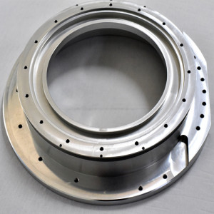 Bagian mesin CNC presisi dari bahan aluminium