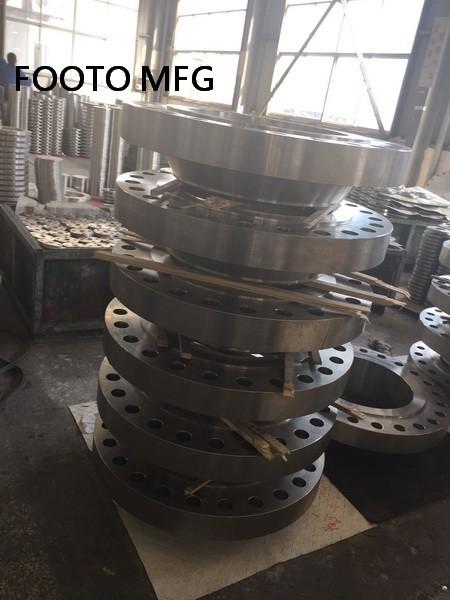 B16.5 ASTM A182 F51 Blind Flange RTJ DN50 SCH80 CL900