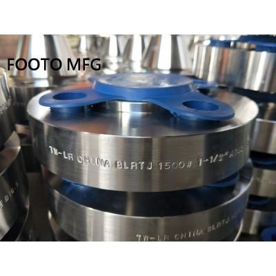 B16.5 ASTM A403 304L Blind Flange RTJ DN50 CL900