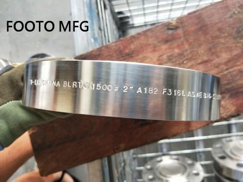 B16.5 ASTM A182 F51 WNRTJ Flange 2