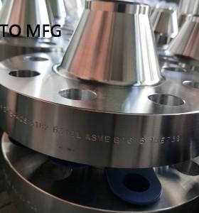 ASME B16.5 ASTM A234 WP5 WNRF Flange 2