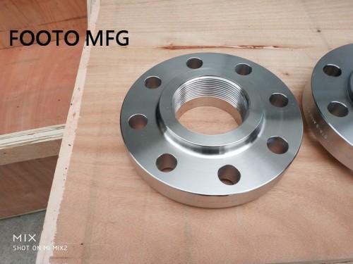 B16.5 A182 F53 GR.2507 NPT Flange RF DN50 CL600