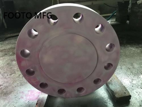 B16.5 ASTM A182 F51 Blind Flange RTJ 24