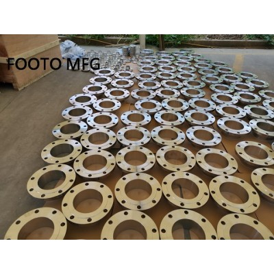ASME B16.5 ASTM A182 F53 GR2507 Lap Joint Flange CL600 100NB