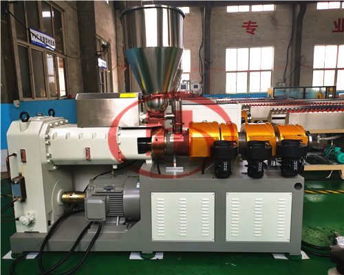 WPC wall cladding extrusion line