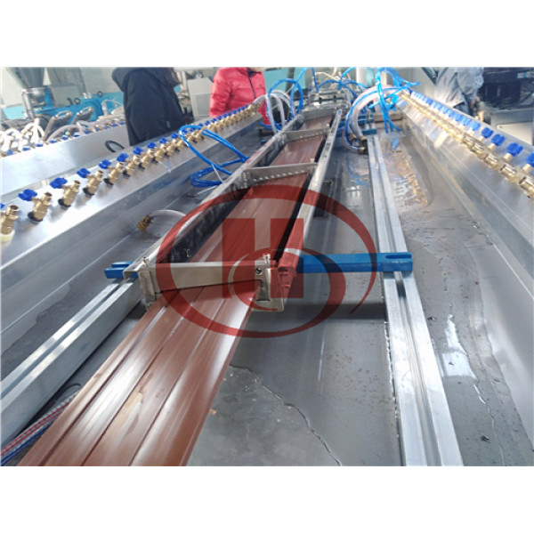 WPC wall cladding panel extrusion line China Wood Plastic WPC machine Manufacturer
