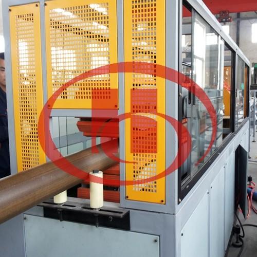 WPC pipe making machine