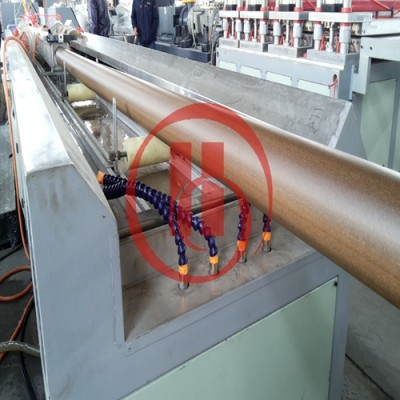 76mm WPC pipe extrusion line