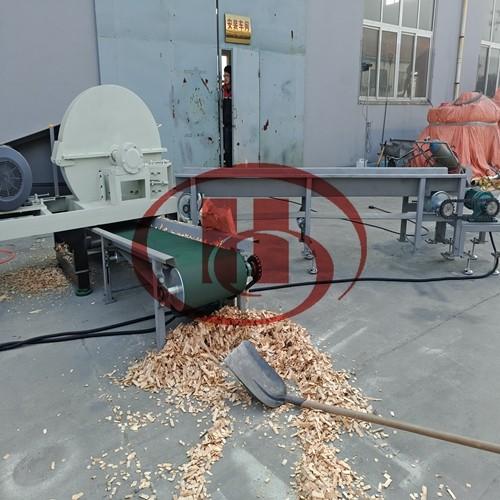 wood chipping machine wood cutting machine