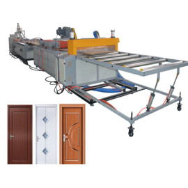 New order from Africa for WPC door machine placed by 03th August 2019