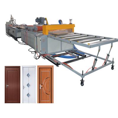 WPC door manufacturing machine