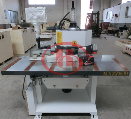 WPC door hole drilling machine