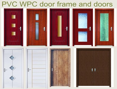 WPC door different designs
