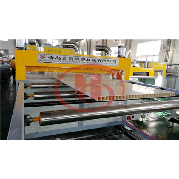 PVC door panel extrusion line China WPC door making machine Manufacturer Qingdao Hegu WPC machinery
