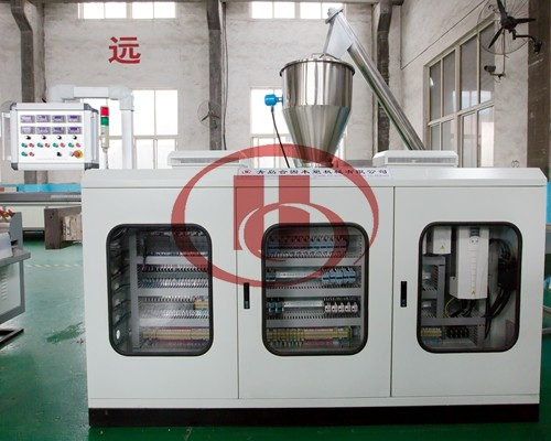 WPC machine electric control