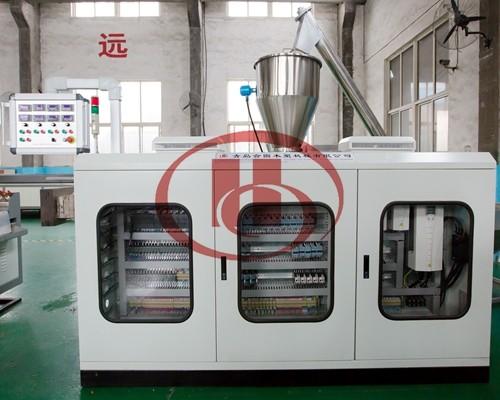 WPC machine electric control
