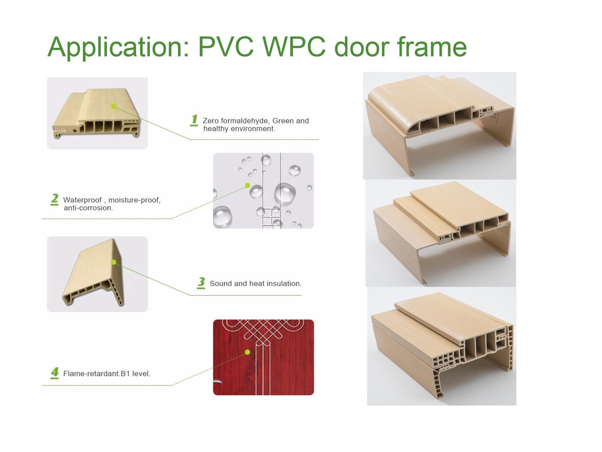 PVC WPC door frame