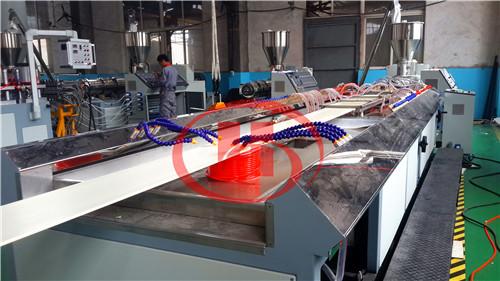 PVC WPC wall panel making machine