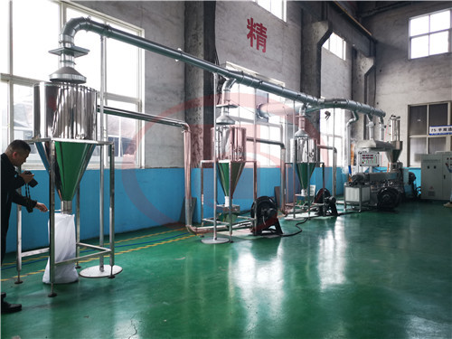 Wood Plastic WPC granule making machine