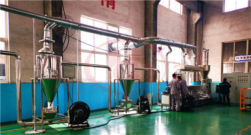 Cooling system of WPC granulation machine