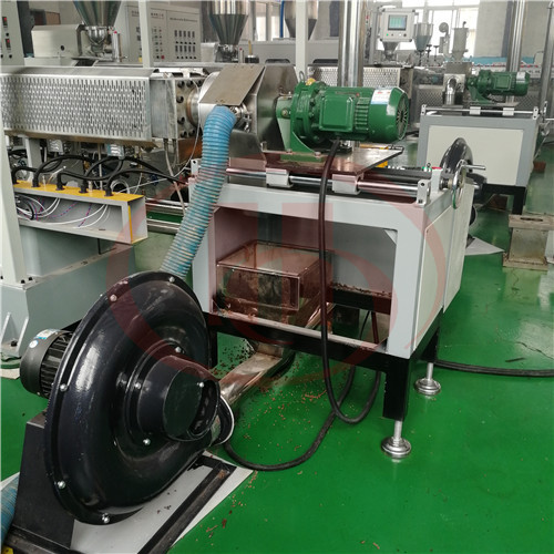 Smoking collection for WPC granulation machine