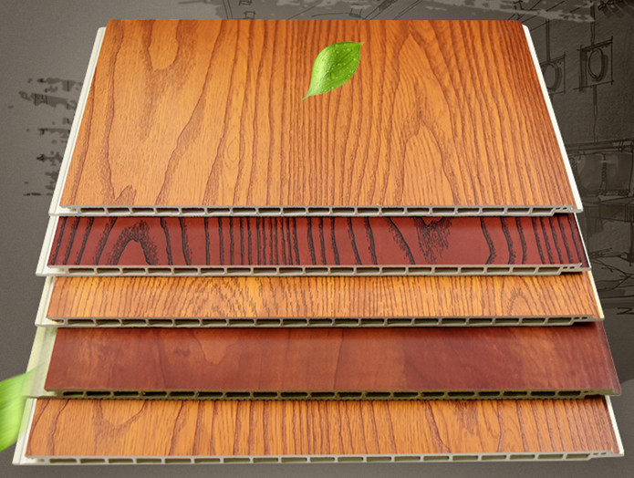 PVC WPC wall panel with lamination