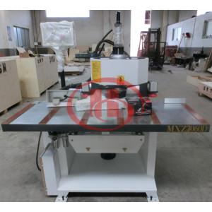 Wooden door WPC door lock hole drilling making machine China WPC door Making Machine Manufacturer