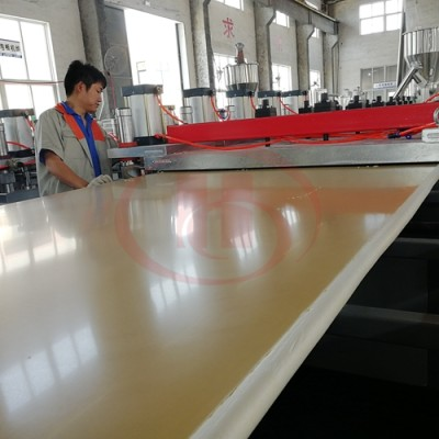 3-45mm thickness WPC solid board extrusion line