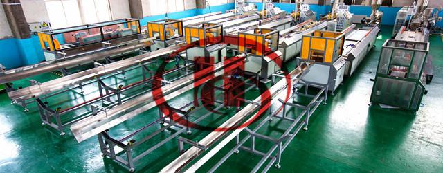 Machine WPC en plastique en bois