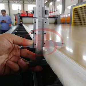 5-35mm thickness Crust foam WPC solid board extrusion line WPC board making machine