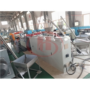 5-45mm Solid Crust foam PVC WPC board extrusion machine WPC board making machine
