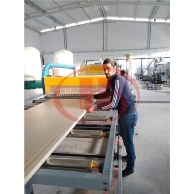 SJMS80/156 Hollow WPC door panel making machine