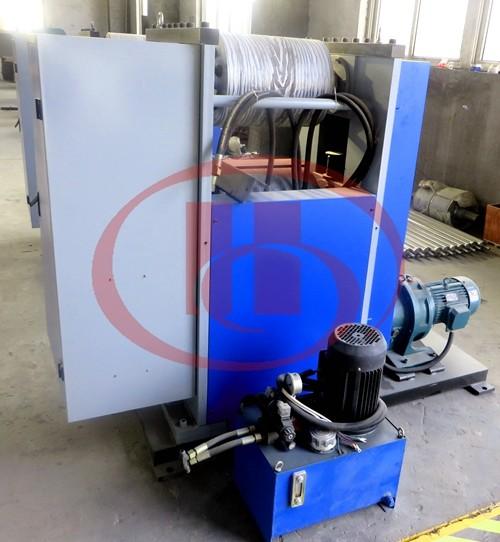 WPC embossor machine