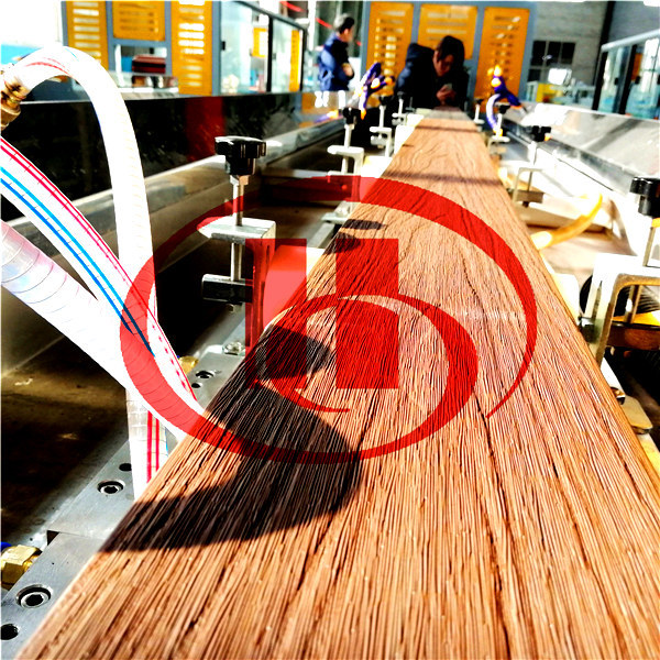 machine d'extrusion en plastique en bois wpc