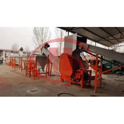 Plastic recycling machine /PP PE wastage crushing and washing machine