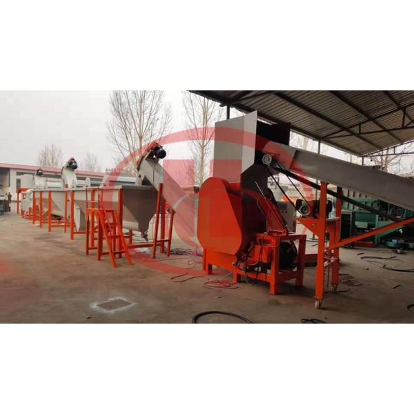 Plastic recycling machine /PP PE wastage crushing and washing machine