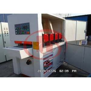 HG-1300 WPC board brushing machine and napping machine brusher machine WPC board making machine