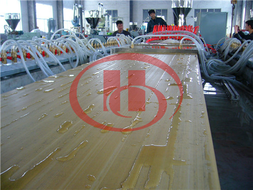 PVC WPC hollow board calibrating machine