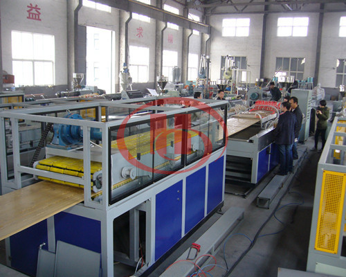 SJMS92/188 PVC WPC hollow board extrusion line