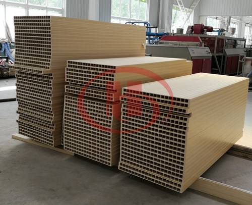 PVC WPC hollow board product