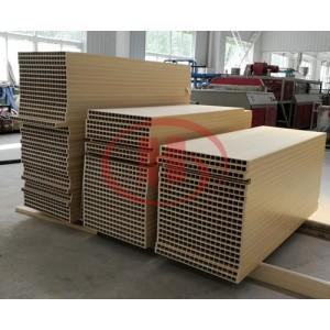 SJMS92/188 PVC WPC Hollow Door Board Extrusion Line Wood Plastic Machine Manufacturer