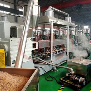 Machine à fabriquer des granulés WPC (utiliser de la poudre de bois recyclée PP/PE-70%)