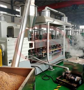machine de composition en plastique de bois